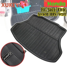 XUKEY Cargo Boot Liner Tray For Honda FIT MK2 MK3 JAZZ Civic