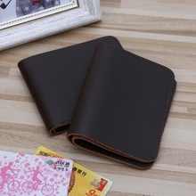 THINKTHENDO Fashion Men's Leather Slim Mini Credit Card Holder Clutch Bifold Coi