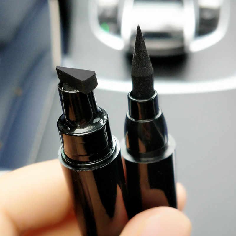 Новый Evpct двойная Карнавальная маска печать Ручка жидкая подводка для глаз карандаш штамп точка тату Макияж инструмент
