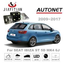 Jiayitian заднего вида Камера для сиденья IBIZA ST 5D MK4 6j 2009 ~ 2017 ПЗС Обратный Камера/Номерные знаки для мотоциклов лампа/Парковочные системы