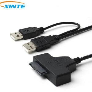 7+6pin SATA to USB 2.0 Adapter