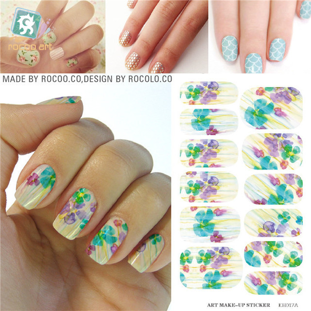 Kits for nail stickers for nail nail tools Makeup Water 3d Nail Art ...
