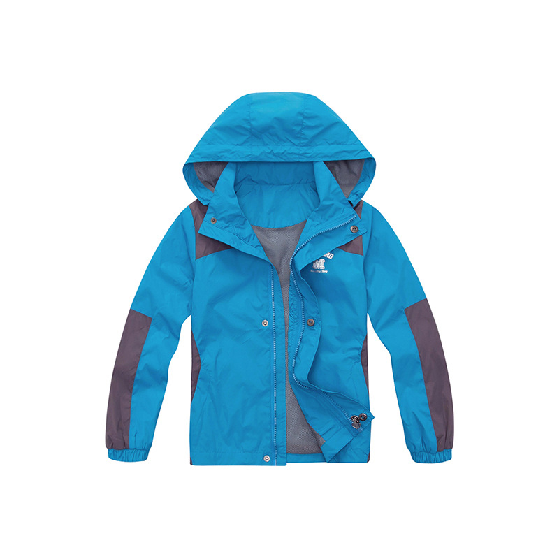 Sashine kids Children boys girls high quality trench coats for outdoors exercise waterproof jackets for