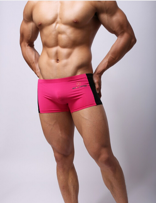 lot Shorts en maille sous-vêtements Boxers Sexy... Boxer hommes 4pcs