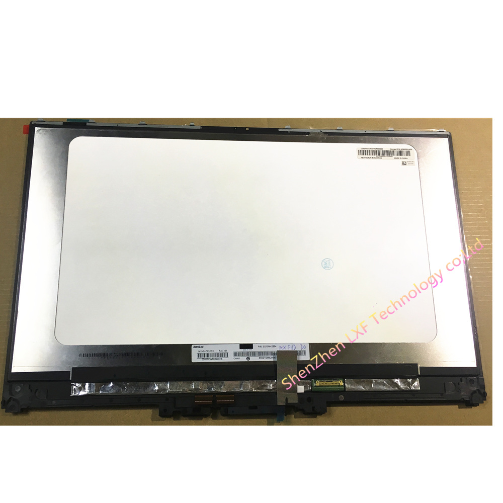 "15.6"" LCD Screen+Touch Digitizer Assembly N156HCE-EN1 FOR Lenovo Yoga 720-15IKB FHD with frame"