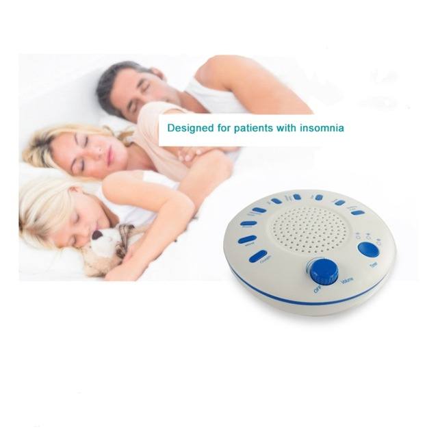 US $16 84 |White Noise Sound Machine Baby Sleep Soothers lectronic Sleep  Aid Device Timing Sound Therapy Treatment for Home Office Travel-in Sleep &