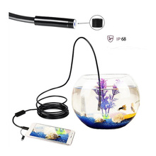 5M Three-In-One HD 1200P Hard Cable Endoscope IP68 Waterproof Camera For Android Tyep-c Mobile Phone  / Auto Repair / Pipeline