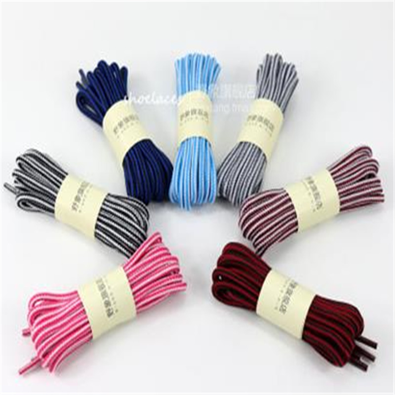 1 Pair 0.9 m Round Shoelace Shoe Lace Sneakers Boot Athletic Sport String Colors Free Shipping ASL682A