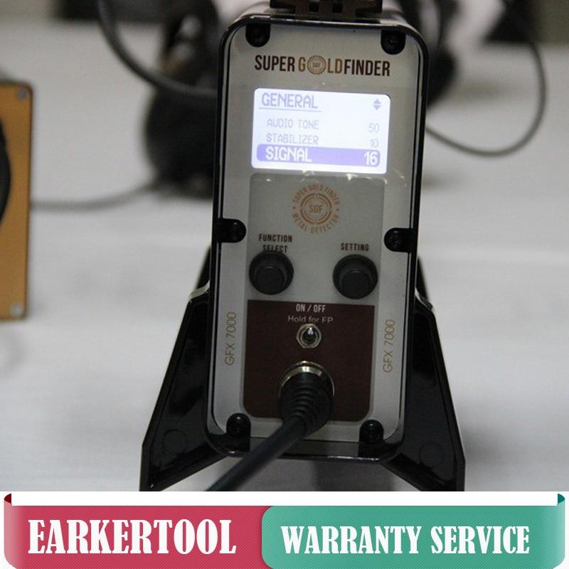 GFX7000 Wykrywacz metali Dalekiego zasięgu Głębokie podziemne - Przyrządy pomiarowe - Zdjęcie 4