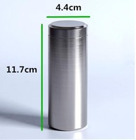 Storage Bottles Jars Metal Cans Tea Caddy Mini Candy Small Sealed Canisters Portable Travel Tea Box