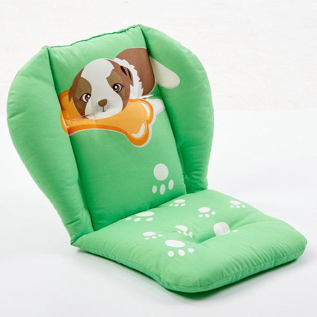 De algodón suave y cómodo cochecito de bebé amortiguador del coche almohadilla de algodón gruesa bebé cesta silla