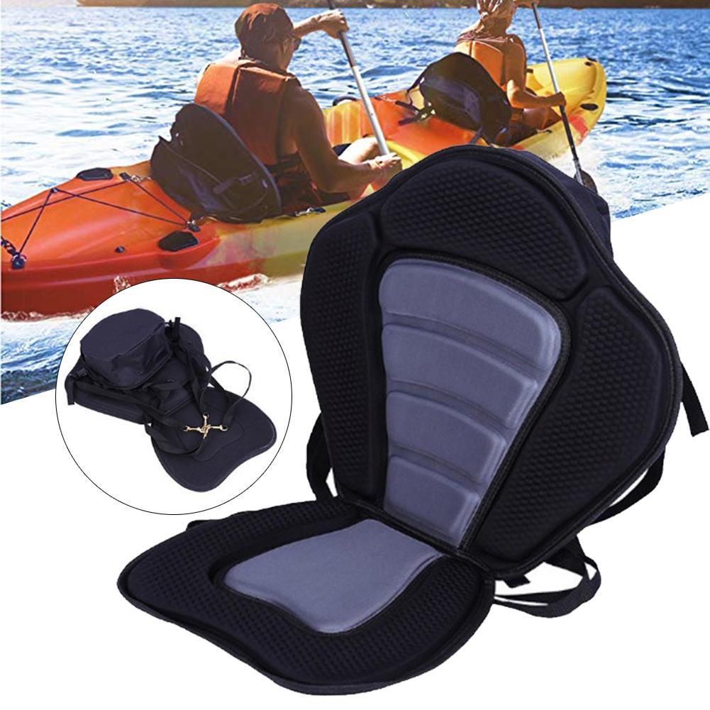 Siège de Kayak rembourré de luxe imperméable siège de luxe assis sur le dessus Support dorsal rembourré Kayak et canoë siège accessoires de bateau Marine