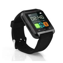 2015 Venta Caliente Bluetooth Smartwatch U8 Reloj Inteligente A Prueba de agua Las Mujeres Podómetro Apoyo Android Teléfono Móvil U8 Reloj Samrt