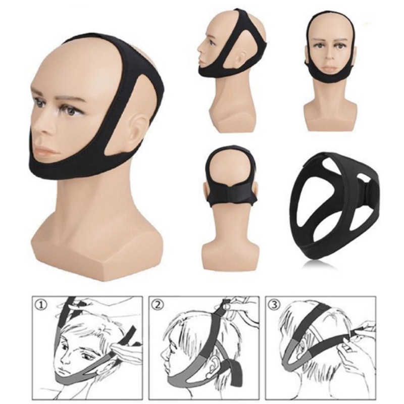 抗いびきベルト三角あごストラップ口ガード女性男性ベターブレス健康いびきストッパー包帯ドロップシッピング