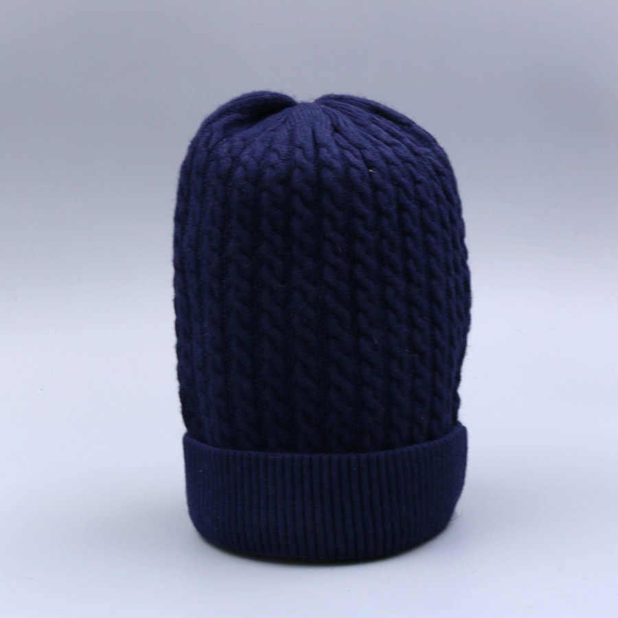[Rancyword] de Alta Qualidade Chapéus de Inverno Para Mulheres de Malha de Lã Gorro Skullies Pompom Grosso Do Sexo Feminino Casual Cap Chapéu Morno RC1242