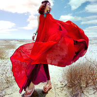 2017 Bohemen zomer strand chiffon lange jurk een micro winkel namens Taobao