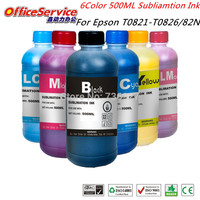 Top Rated Bulk Bottle Ink Of Sublimation Ink For T0821 T0826 82N Cartridge 0 For Epson