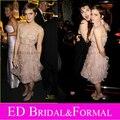 Эмма Уотсон Платье Цветочные Homecoming Платье Партии Коктеила Soho House Grey Goose After Party