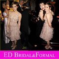 Emma Watson Vestido Floral Homecoming Cocktail Party Dress Soho House Grey Goose After Party