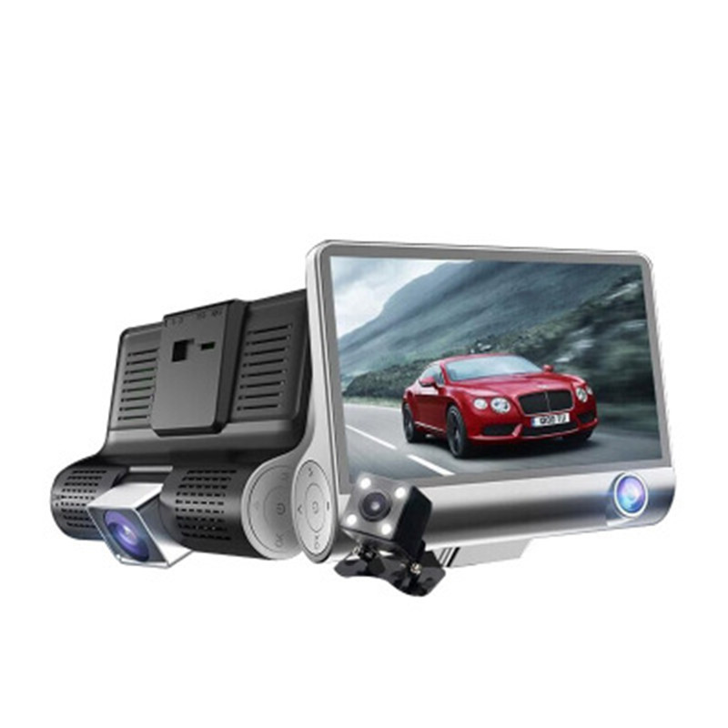 Car DVR Camera Video-Recorder Dual-Lens Angle-Dash 170 3 with Auto-Registrator-Dvrs