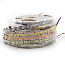 5 m led 스트립 빛 2835 smd 240led/m 12 v ip20/ip65 방수 234led/m 유연한 led 빛 흰색 rgb 오렌지 아이스 블루 스트라이프 로프