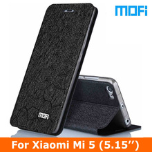 Xiaomi Mi5 case Original Mofi leather case xiaomi mi 5 pro prime TPU soft case Stand holder + Flip leather cover For xiaomi mi5
