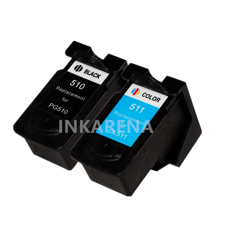 2PCS PG510 CL511 Ink Cartridge PG 510 CL 511 PG-510 CL-511 for Canon Pixma IP2700 MP240 MP250 MP260 MP270 MP280 MP480 MP490 stainless steel manual push self turning stirrer egg beater whisk mixer kitchen wholesale price