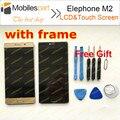 Elephone М2 ЖК-Экран с Рамкой 100% Первоначально Замена ЖК-Дисплей + Сенсорный Экран Для Elephone М2 Смартфон Бесплатная Доставка