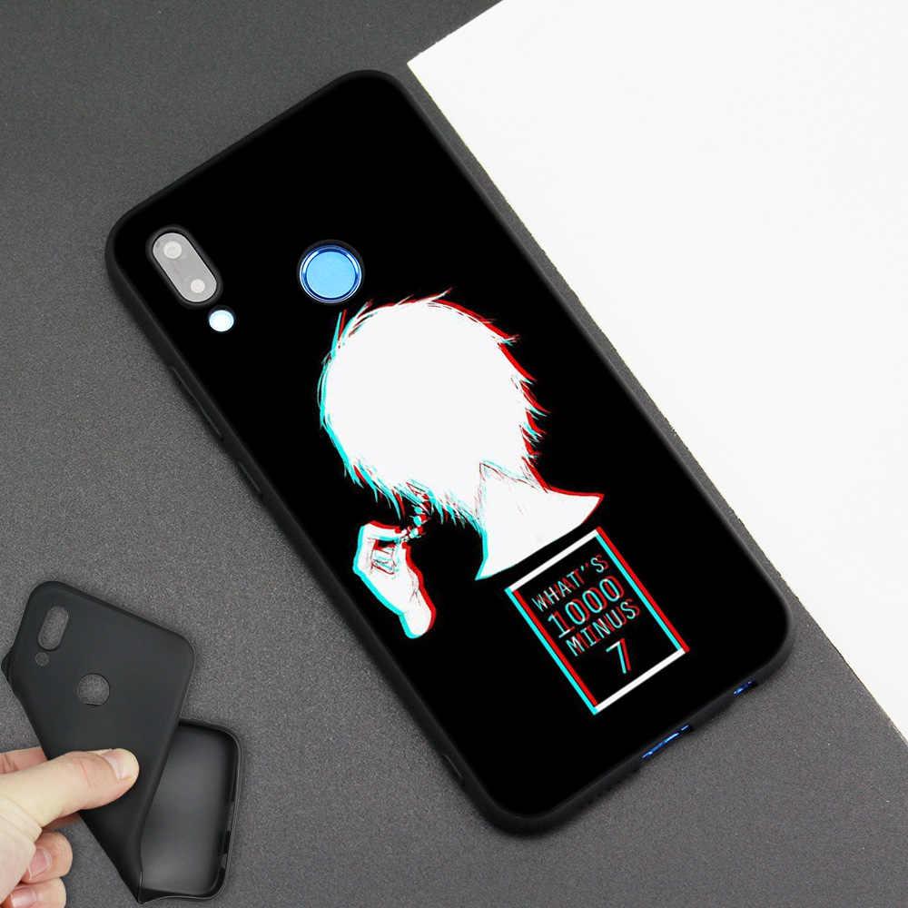 Silicone Case Cover for Huawei P20 P10 P9 P8 Lite Pro 2017 P Smart+ 2019 Nova 3i 3E Phone Cases Tokyo Ghoul Anime