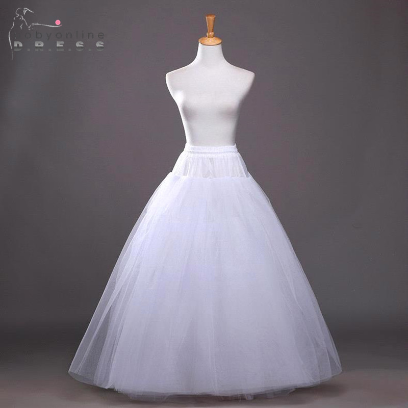 Aliexpress Buy Anagua Cheap Underskirt Ball Gown Petticoat For Wedding Dress 2016 Fluffy