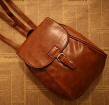 Мягкой оболочки mochila Рюкзак корейской винтаж рюкзак кожа mochila эсколар shell рюкзак опрятный женщин пу рюкзак