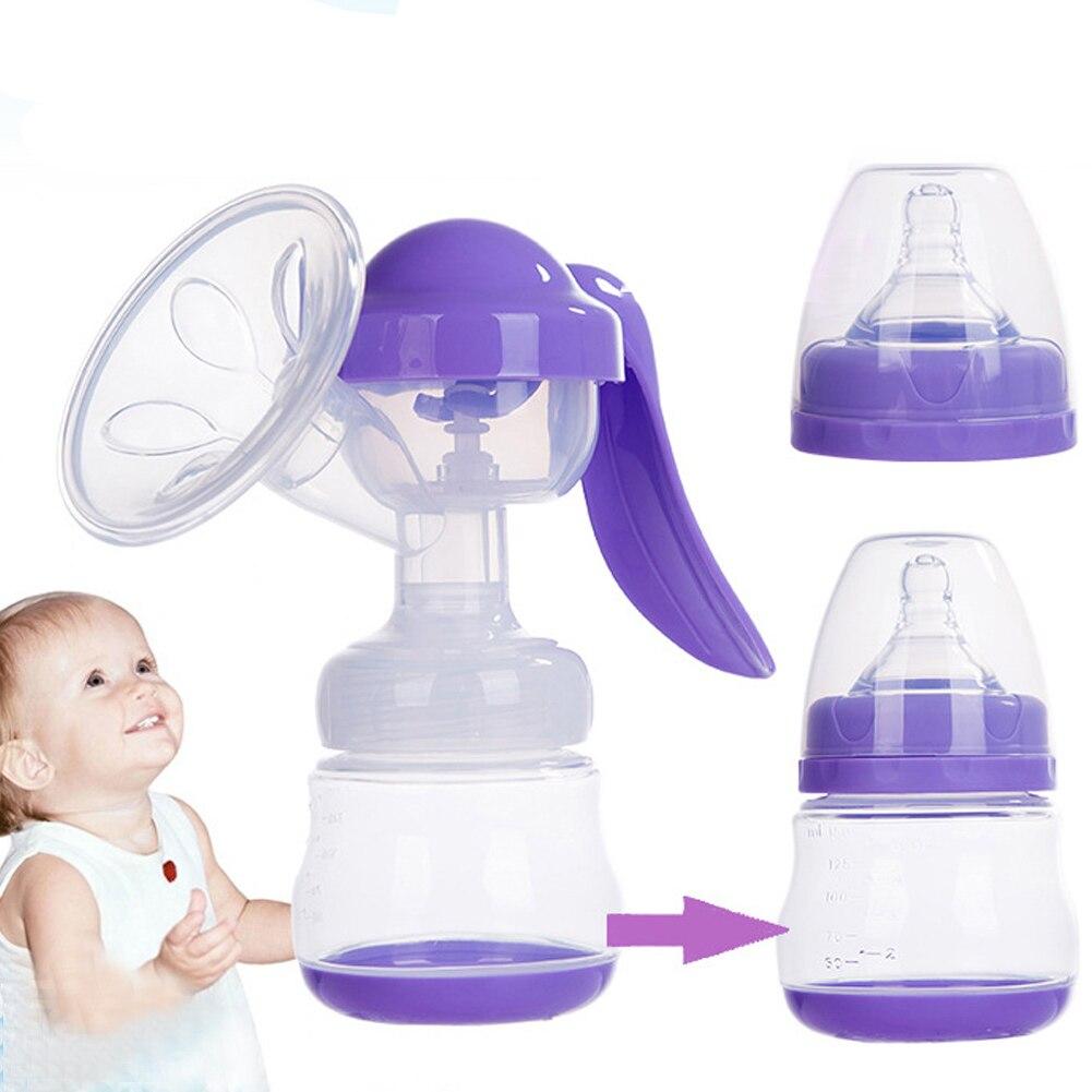 150ML Milk Pumps Baby Nipple Breast Pump Women Feeding Manual Breast Pump BPA Free BM88