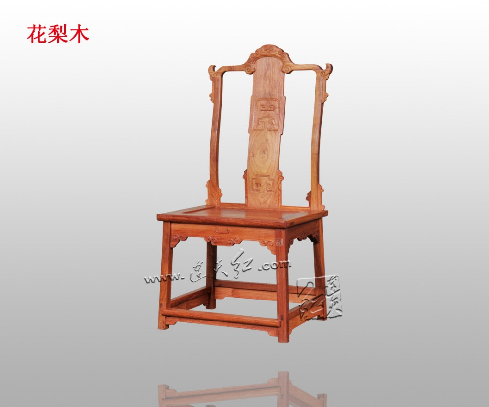 American Country Rosewood Furniture Solid Wood Living Dining Room Leisure Backed Chair Classical Antique Annatto wooden La Sedia classical rosewood armchair backed china retro antique chair with handrails solid wood living dining room furniture factory set
