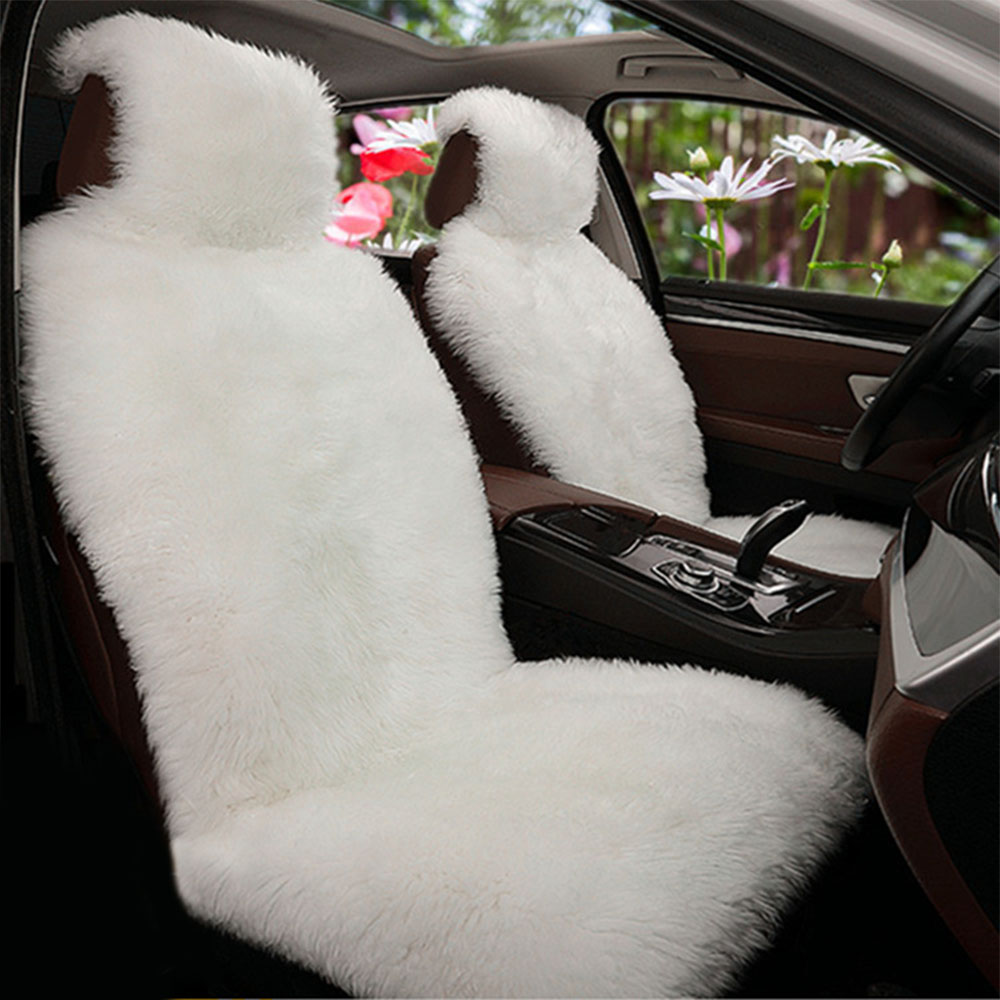 Phenomenal Us 31 24 20 Off Universal Car Front Seat Covers Autumn Winter Soft Warm Fur Seat Cover Auto Protector Pads Interior Accessories 5 Colors In Alphanode Cool Chair Designs And Ideas Alphanodeonline