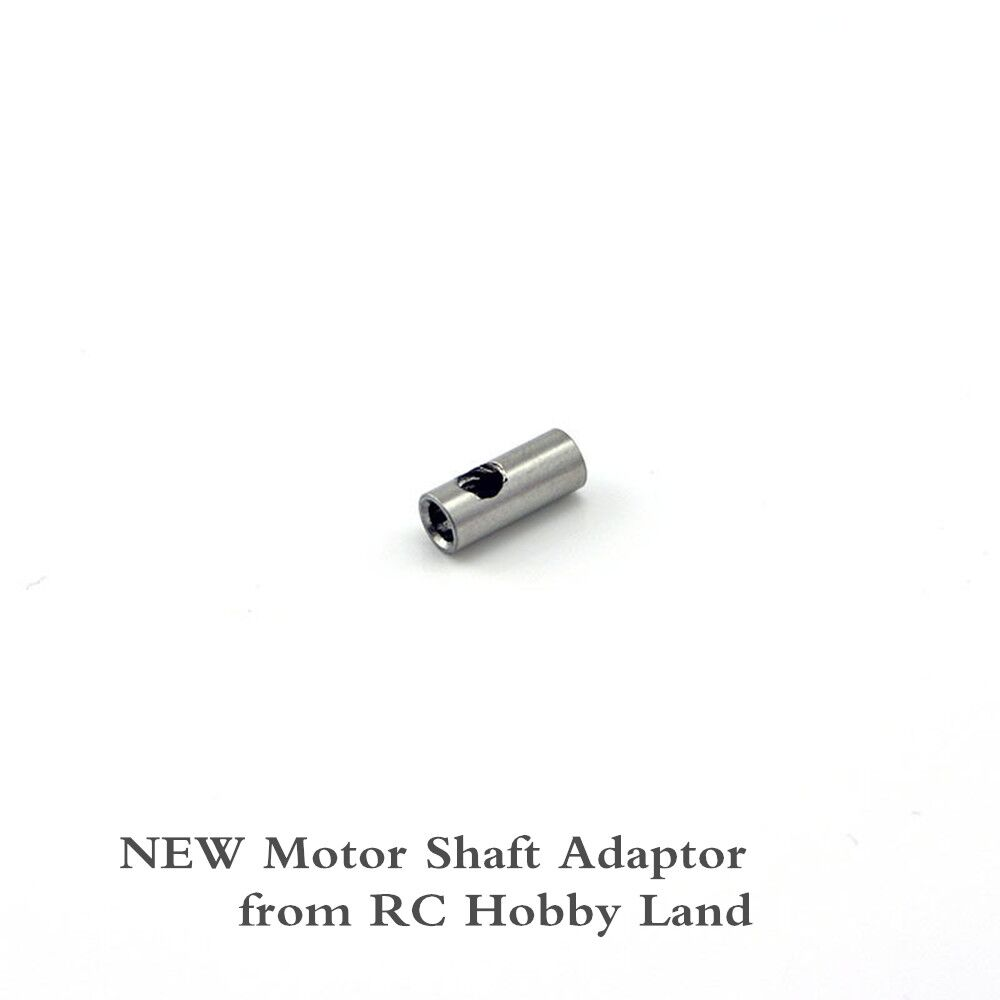 Motor Shaft Sleeve Adapter FROM 3.17MM TO 5MMFor HOBBYWING RC Model Motor 3mm 5mm Shaft Adapter rc model boat ship drive shaft universal joint 3 blades propeller sleeve nut gasket bearing for 2 3mm 3mm 3 175mm 4mm 5mm motor
