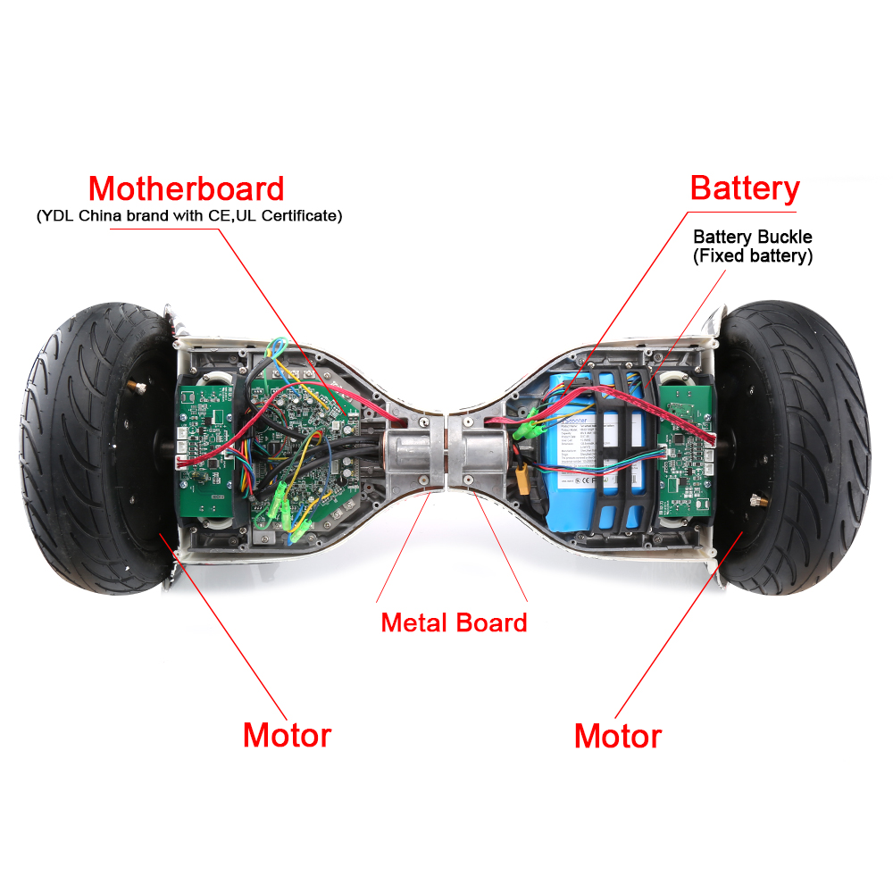 10 inch self balancing electric Hoverboard with speaker and Bluetooth 8