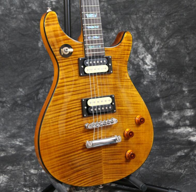 starshine top quality prsr custom 22 style electric guitar flamed maple veneering zebra pickups. Black Bedroom Furniture Sets. Home Design Ideas