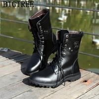 snow boots men military shoes men boots genuine leather ankle boots men casual shoes zapatos de hombre buty damskie botas hombr
