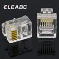 Модульный сетевой штекер RJ11 6P6C, 6 контактов, телефонный разъем