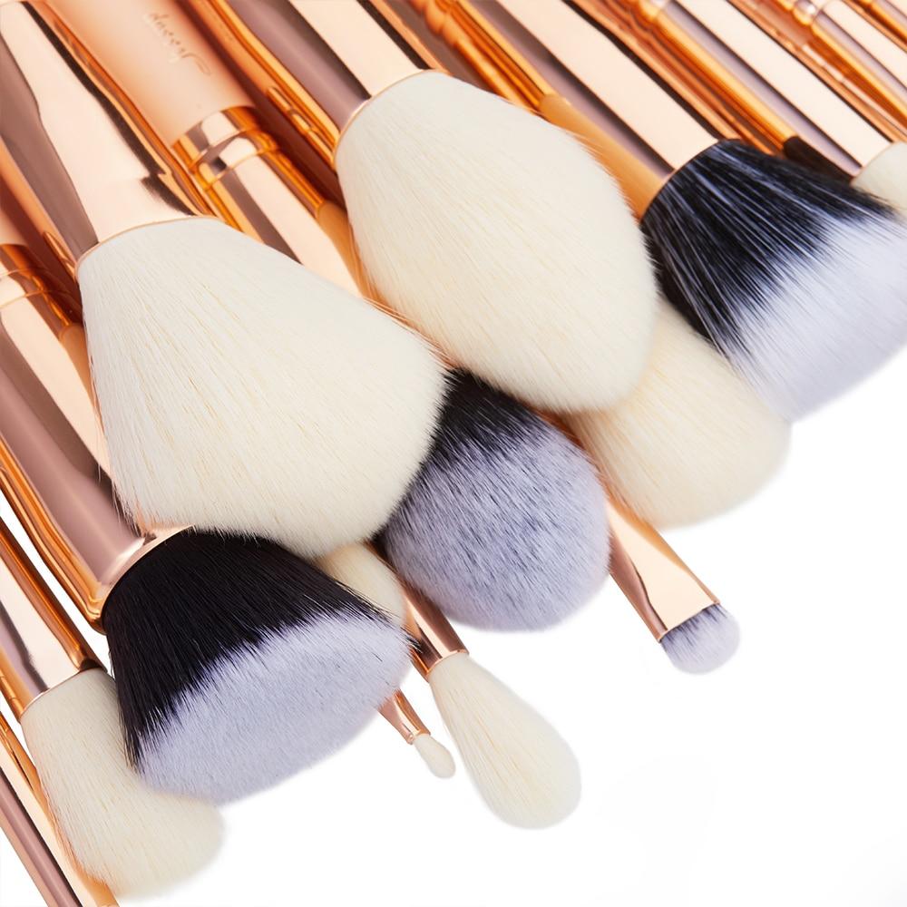 Jessup szczotki 30 sztuk pędzle do makijażu zestaw narzędzi kosmetycznych zestawy kosmetyczne Make up brush POWDER FOUNDATION cień do powiek w Aplikatory cieni do powiek od Uroda i zdrowie na  Grupa 3