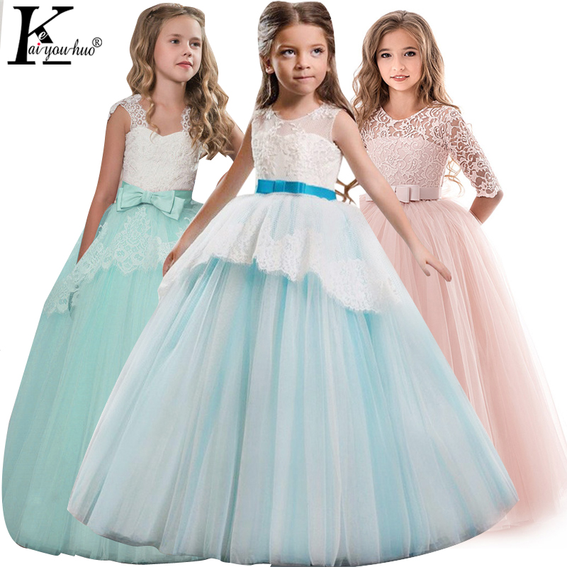 Summer Dress Elegant Kids Dresses For Girls Clothes Vestidos Girls Dress Teenagers Wedding Dress 5 6 7 8 9 10 11 12 13 14 Years 2017 summer kids flower girls dresses for teenagers girl wedding ceremony party prom dress girls clothes for 3 4 5 6 7 8 9 years