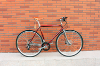 700C variable speed bicycle road mountain retro bike single speed bike 18 speed bike City bicycle
