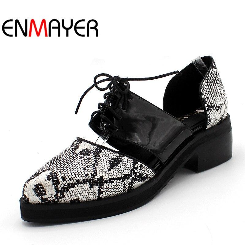 535be30b ENMAYER bolso verano estilo nuevo de moda Sexy de las mujeres sandalias de  señoras planas punta Patchwork de encaje negro Beige zapatos de gran tamaño  34-47