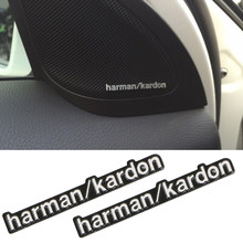 Car-styling car audio decorate fit harman kardon For BMW E46 E39 E60 E90 E36 F30 F10 X5 E53 E34 E30 Cooper Lada Audio Speaker(China)
