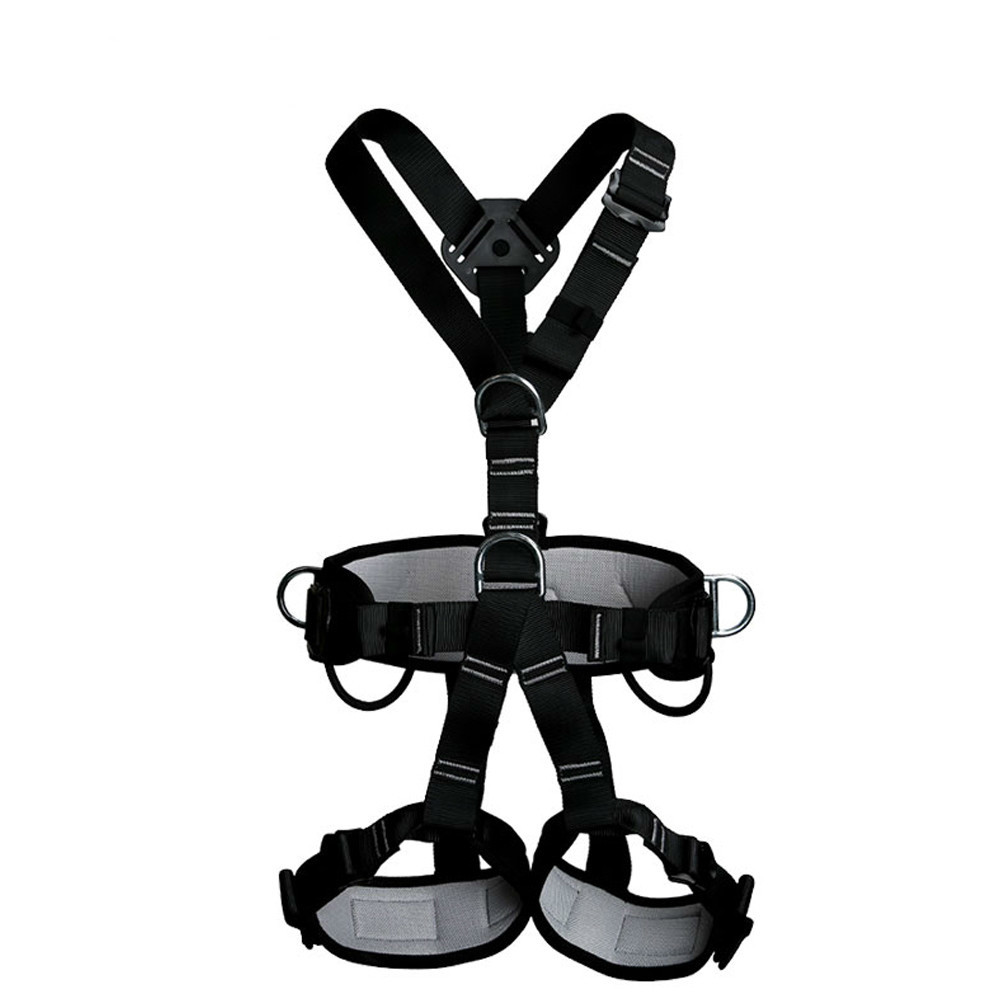 Top Quality professional Rock Climbing High altitude Full Body Safety Belt Harnesses Anti Fall Protective Gear professional rock climbing harnesses full body safety belt anti fall removable gear altitude protection equipment