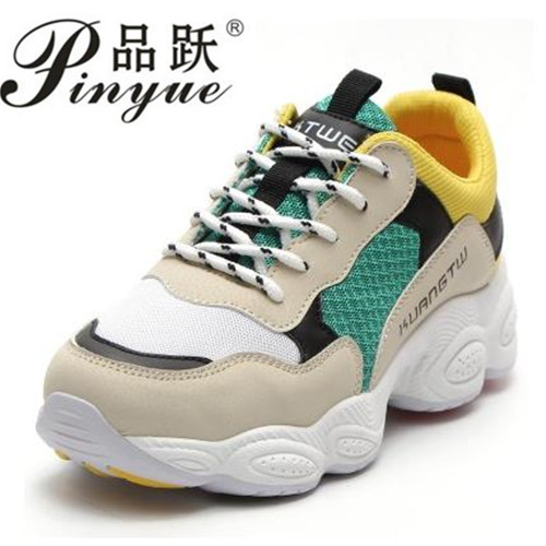 new hot womens shoes spring 2018 women sneakers platform ladies flat women's casual shoes