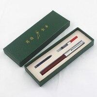 Jinhao Классический Дерево, перо 0,5 мм дополнительный тонкий наконечник ручки для каллиграфии Jinhao 51A Канцтовары офисный школьный поставки A6994