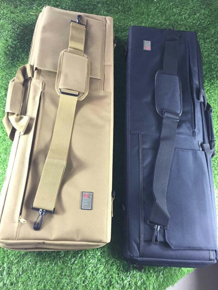 """Prix pour 100 CM 38 """"Tactique Heavy Duty Gun Slip Biseau Sac de Transport Rifle Case Poche D'épaule Chasse Tir Antichoc Fusil de Chasse sac"""