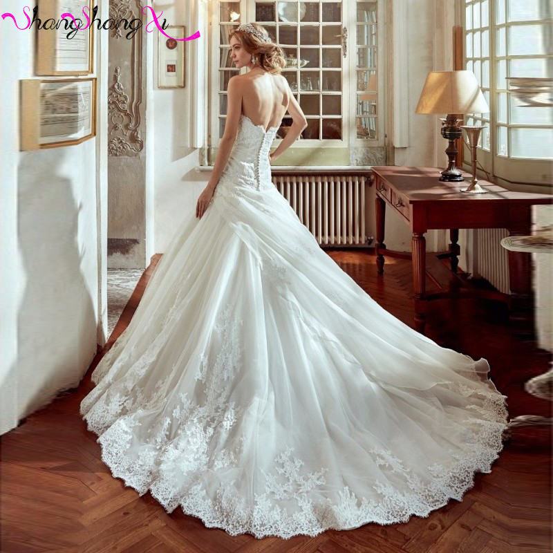 Bella bride 2017 buyers show applique bride mermaid long wedding bella bride 2017 buyers show applique bride mermaid long wedding dresses sweetheart backless elegant garden wedding gowns hs020 in wedding dresses from junglespirit Images