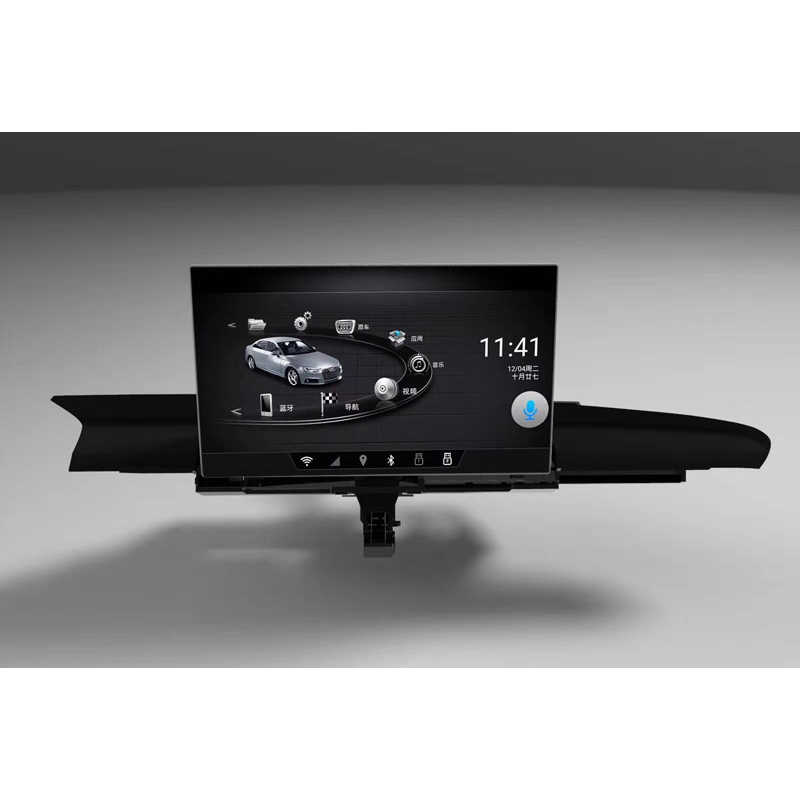 2012-2018 アウディ A6L A6 9 インチロング水平テレアンドロイド車の Gps ナビゲーション、マルチメディアビデオ Bluetooth wifi